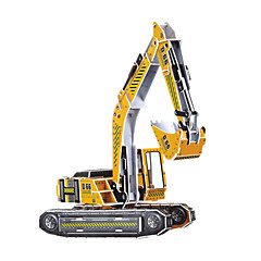 DIY Excavator Shaped 3D Puzzle