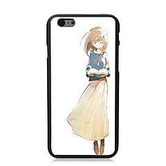 belo estojo rígido projeto pc menina para iphone i5