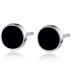 Unisex Sterling Silver/Resin Earring Stud Earrings Wedding/Party/Daily/Casual (1pair)