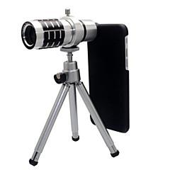 Aluminium Objektiv med lang brændvidde 10X og derover 32*8 3 90 Objektiv med etui Objektiv med stativ iPhone 6