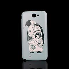 Penguin Animal Pattern Cover  fo Samsung Galaxy Note 2 N7100 Case