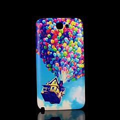 House Up Pattern Cover  fo Samsung Galaxy Note 2 N7100 Case