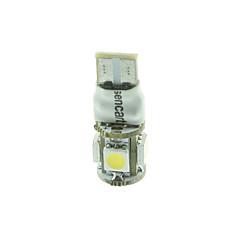 10 x T10 LED 2-Mode-blau / rot / warmweiß / grün / gelb / white1.5w 5x5050smd 90lm für Auto-Glühbirne (DC12-16V)