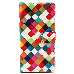 Rainbow Pattern PU Leather Full Body Case with Stand for Sony Xperia Z3