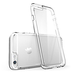 Para Funda iPhone 6 / Funda iPhone 6 Plus Ultrafina / Transparente Funda Cubierta Trasera Funda Un Color Suave SiliconaiPhone 6s Plus/6