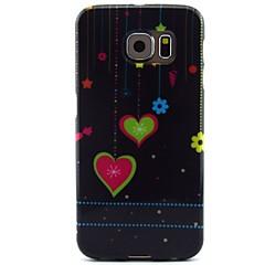 dragoste în modelul de noapte TPU caz moale pentru Samsung Galaxy s6