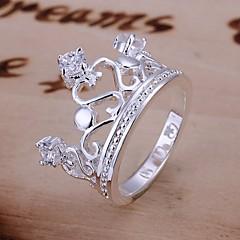 Массивные кольца ( Серебрянное покрытие ) - Свадьба/Для вечеринок/Повседневные