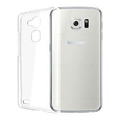 διαφανές κάλυμμα πλάτη σιλικόνης για το Samsung Galaxy S6