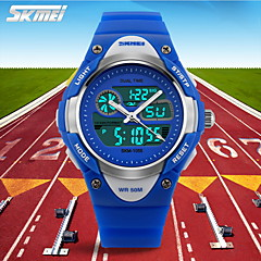 SKMEI® Kids' Sporty Wristwatch Japanese Quartz Analog-Digital Rubber Band