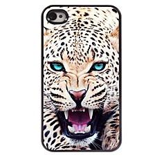 The Leopard Design Aluminum Hard Case for iPhone 4/4S