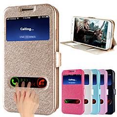 BIG D Slik Pattern PU Full Body Case for Samsung Galaxy S4 I9500(Assorted Colors)