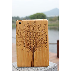 With Different Patterns Real Natural Bamboo Wood Wooden Hard Back Cover Protective Cases For Ipad Mini Assorted Color