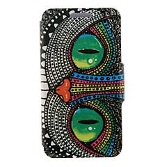 Varten Samsung Galaxy kotelo Tuella / Flip Etui Kokonaan peittävä Etui Pöllö Tekonahka SamsungS6 edge plus / S6 edge / S6 / S5 Mini / S5