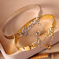 Hollywood Star Club Fashion The Sell Like Hot Cakes Gold-Plated Bracelet(Multi-Color)