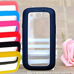big d bunten Silikagel Acryl für Samsung-Galaxie s3 i9300 (farbig sortiert)