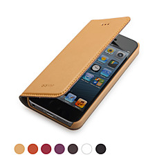 GGMM ® Case de cuir véritable Clamshell Full Body pour IPhone5/5s (couleurs assorties)