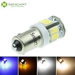 BA9S w6w 5w 11x5630smd 550lm blauwe // warm wit / geel / koel wit voor auto-signaal licht (dc12-16v)
