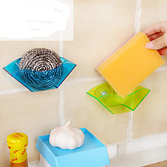 Sucker Sink Drain Frame / Multi-Functional Stand/Sponge Stand (Color Random)