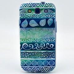 zielony styl ludowy wzór ultracienki TPU miękkie etui do Samsung Galaxy S3 i9300
