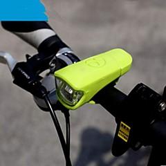 Pyöräilyvalot LED taskulamput / Pyöräilyvalot LED mobiili virtalähde 400 Lumenia USB 5mm lamppu Musta / Vihreä / Valkoinen Pyöräily-Muut
