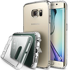 GYM Luxury Clear Crystal TPU Frame Acrylic Back Case for Samsung Galaxy S6(Assorted Color)