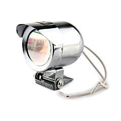 universal de la luz 35w 15lm 1-conducido la motocicleta de dirección - plata (12v dc)