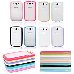 BIG D Matte Soft Bolder Case for Samsung Galaxy S3 I9300(Assorted Colors)