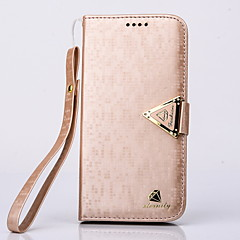 Luxurious Diamond PU Leather Full Body Case with Stand and Card Slot for Samsung Galaxy S6 Edge(Assorted Colors)