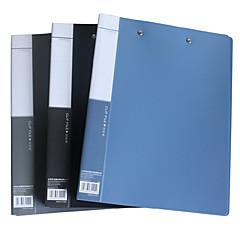 Office Supplies A4 File Organizer Lever Clips Portfolio Business Presentation