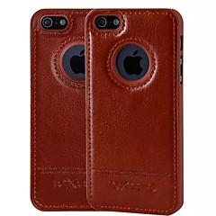 spesielle design fargerik pu skinn for iPhone 5 / 5s (assorterte farger)