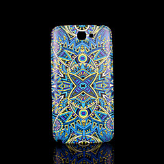 Blumenmuster Abdeckung fo Samsung Galaxy Note 2 N7100 Fall