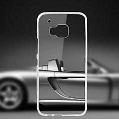 couvercle transparent du boîtier arrière pour HTC One (de M9)