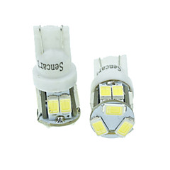 T10 Car Truck & Trailer Motorcycle White Blue Yellow Warm White 5W SMD 5630 High Performance LED 6000-6500Instrument Light Reading Light