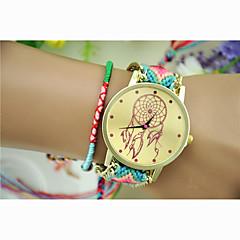 패션 여성의 드림 캐쳐 국가 방직 남쪽 한국 스타일의 체인 DIY 시계