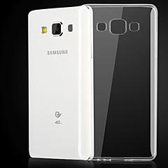 For Samsung Galaxy etui Transparent Etui Bagcover Etui Helfarve TPU for Samsung A3