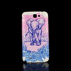 elefante capa padrão fo samsung galaxy note 2 N7100 caso