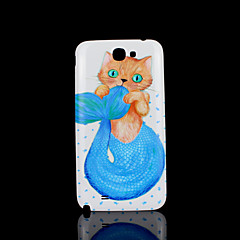 Cat Kitty Animal Pattern Cover  fo Samsung Galaxy Note 2 N7100 Case