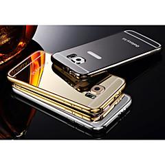 due-in-uno kx caso duro struttura del marchio in metallo acrilico tabellone metallo per Samsung galassia S6 (colori assortiti)