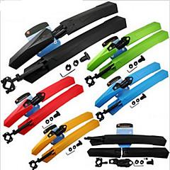 Garde-boue de vélo Plastique Noir Rouge Bleu Jaune Vert