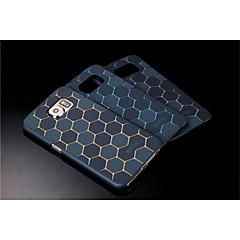 metalli graafinen ruutukaava takakansi koko kehon tapauksia Samsung Galaxy s6 (eri värejä)