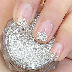 Silver Paillette Glitter Powder Nail Art Decorations