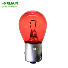 10PCS XENCN PR21W 12V21W S25 BAW15s Turn Signals Additional Brake Lights Replace for Warning Lights