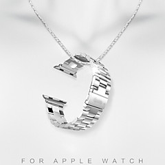 Horloge band voor appelhorloge 316l legering band 42mm vlinder gesp