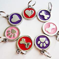Collares para Perros / Gatos Primavera/Otoño S Plástico / Aluminio