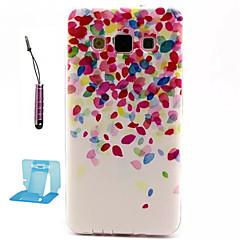 terälehti kuvio TPU pehmeä kotelo Samsung Galaxy a3