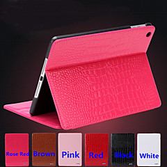 Business Crocodile Leather Band Sleep PU Leather Flat for Ipad2 3 4 (Assorted Colors)