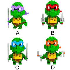 loz 4models / satt byggeklosser Ninja Turtles serien