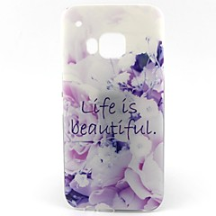 belo padrão de vida caso TPU macio para HTC M9 / HTC One M9