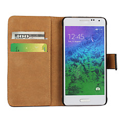 Solid color Light Surface Pattern Hard Case with Magnetic Snap and Card Slot For Samsung Galaxy Alpha/Express 2/Grand 2