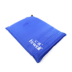 Hewolf Moistureproo PE Foam/Polyester Inflated Mat/Camping Pad 1390 Blue/Orange